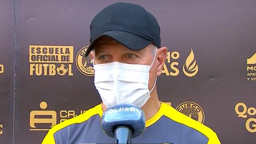 """Carlos Ramacciotti: """"Al empatar quedamos fuera de todo, pero felicito a mis jugadores"""" (VIDEO)"""