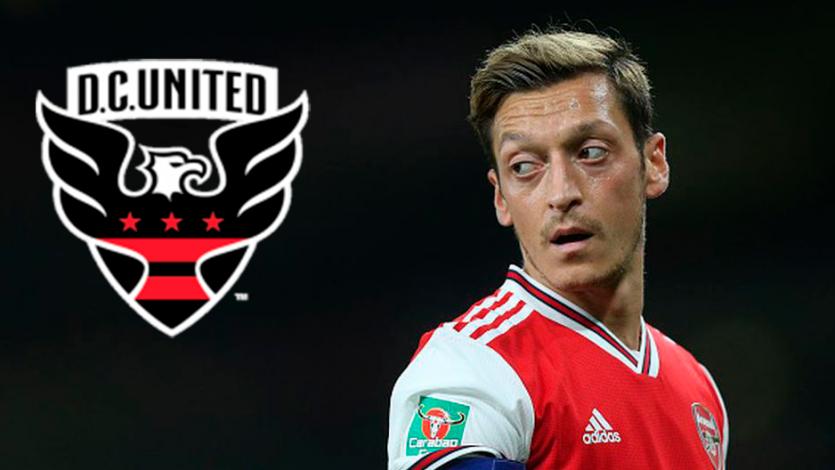 Mesut Özil podría hacer dupla con Edison Flores en el DC United