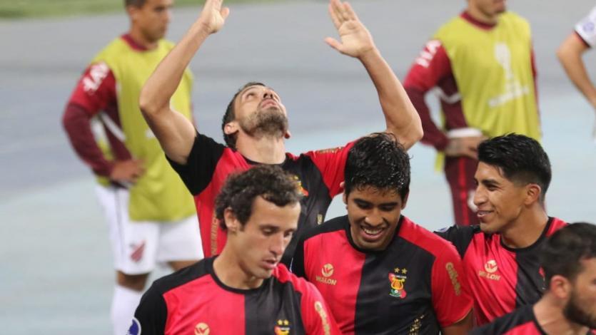 FBC Melgar líder del grupo D de la Copa Sudamericana: así festejaron tras su triunfo ante Athletico Paranaense