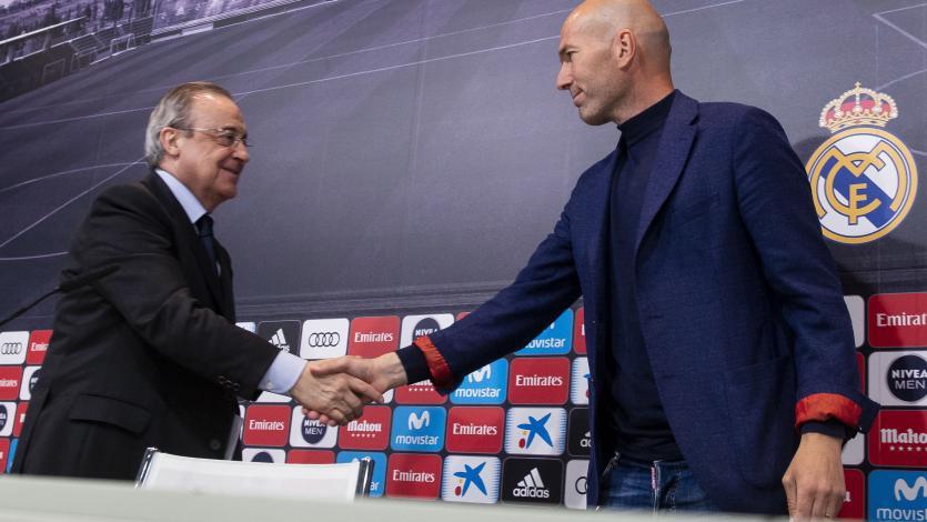 Zidane no seguirá más en el banquillo del Real Madrid
