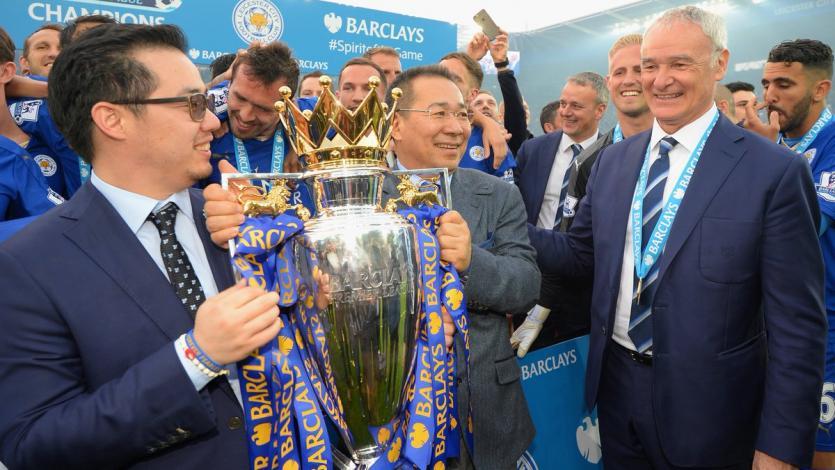 Confirman muerte del presidente del Leicester City