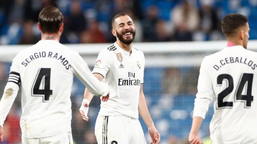 Karim Benzema le da una nueva victoria al Real Madrid de Zidane