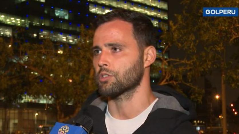 Federico Nicosia sobre partido con Cristal: