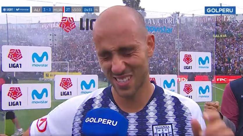 Alianza Lima: el llanto de Federico Rodríguez tras ganarle a Sport Huancayo en Matute (VIDEO)