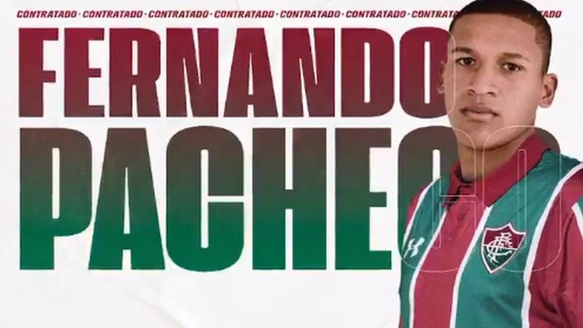 Fernando Pacheco se luce como el flamante fichaje del Fluminense