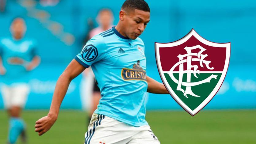 Sporting Cristal: en Brasil confirman venta de Fernando Pacheco al poderoso Fluminense (VIDEO)