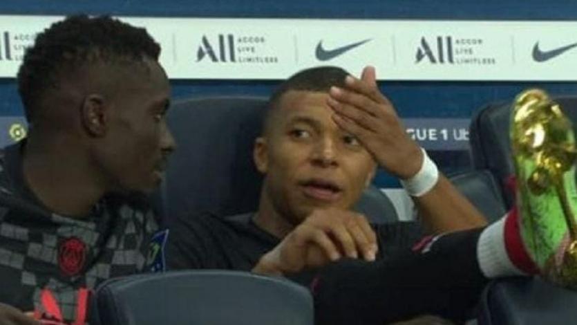 PSG: Kylian Mbappé fue grabado hablando mal de Neymar (VIDEO)