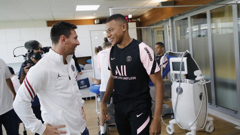 Lionel Messi completó su primer entrenamiento con el PSG (VIDEO)