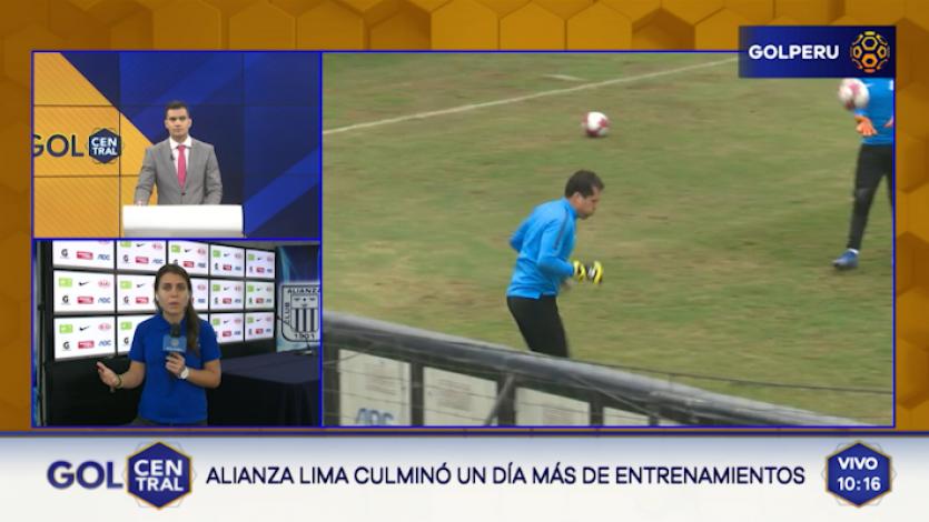 Alianza Lima continúa sus entrenamientos en Matute