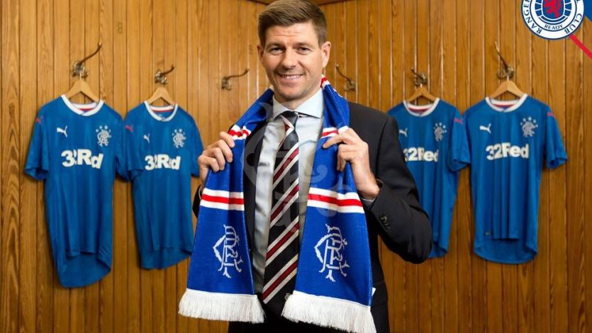 Steven Gerrard es nuevo técnico del Rangers de Escocia