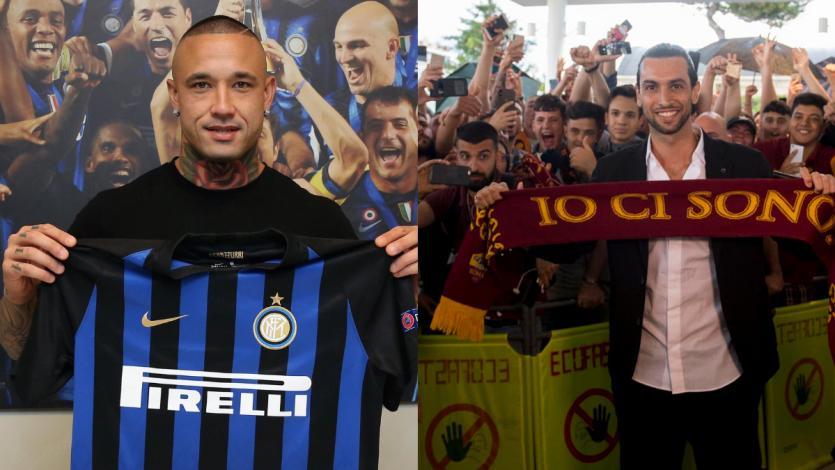 Fichajes: Nainggolan y Pastore remecen la Serie A