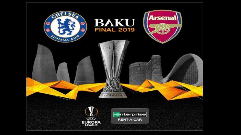Arsenal y Chelsea se enfrentan este miércoles por la final de la Europa League