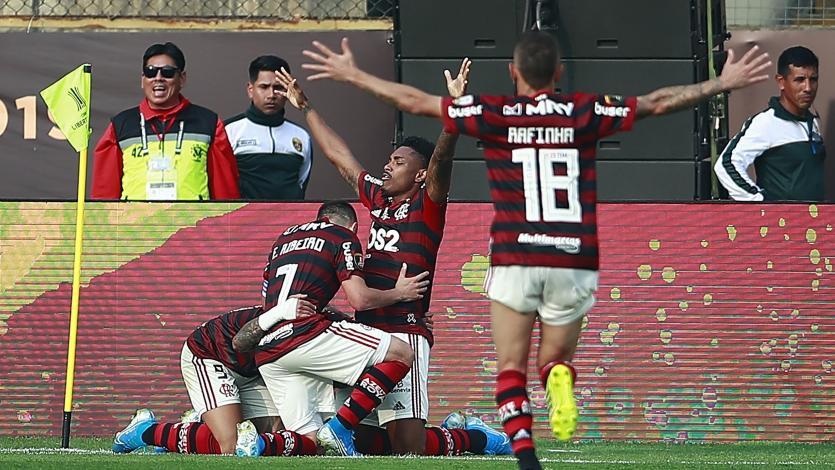 Flamengo venció 2-1 a River Plate y es campeón de la Copa Libertadores en el Monumental (VIDEO)