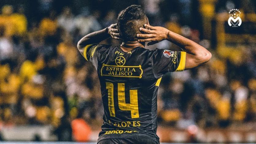 Edison Flores se luce con su primer asistencia con Morelia de la temporada (VIDEO)