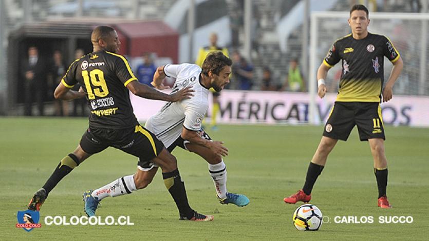 UTC igualó 1-1 frente a Colo Colo en Chile