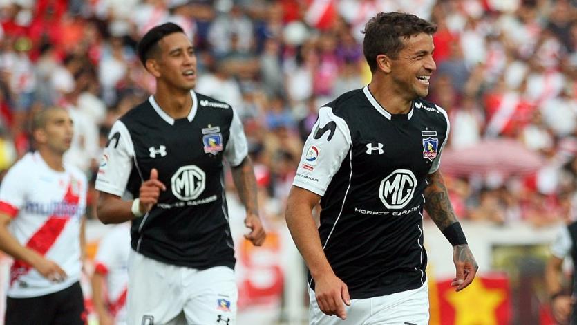 Gabriel Costa anota sus primeros goles con Colo Colo