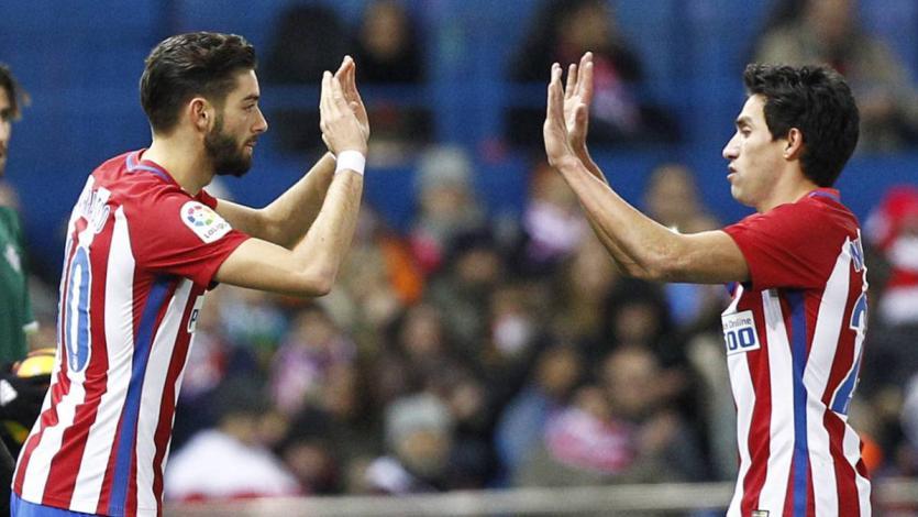 Yannick Carrasco y Nicolás Gaitán se despiden del Atlético de Madrid