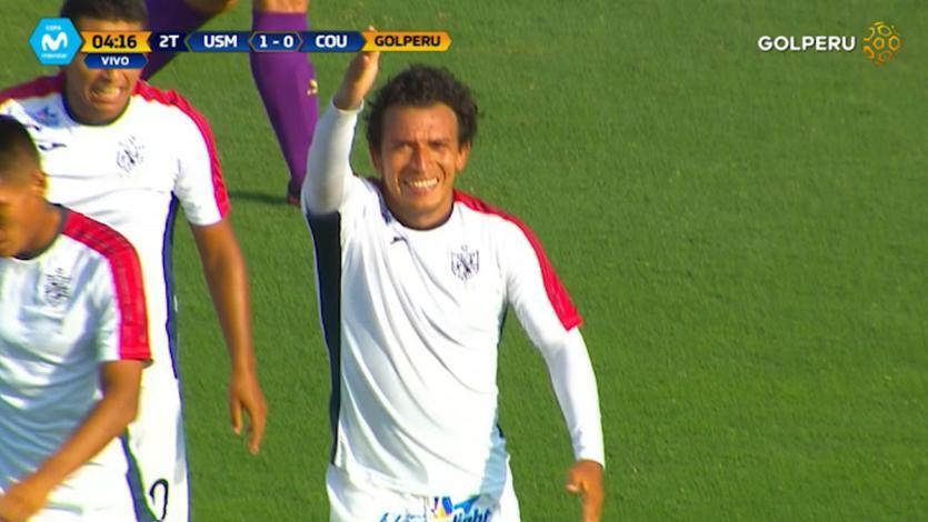 San Martín igualó 1-1 con Comerciantes Unidos
