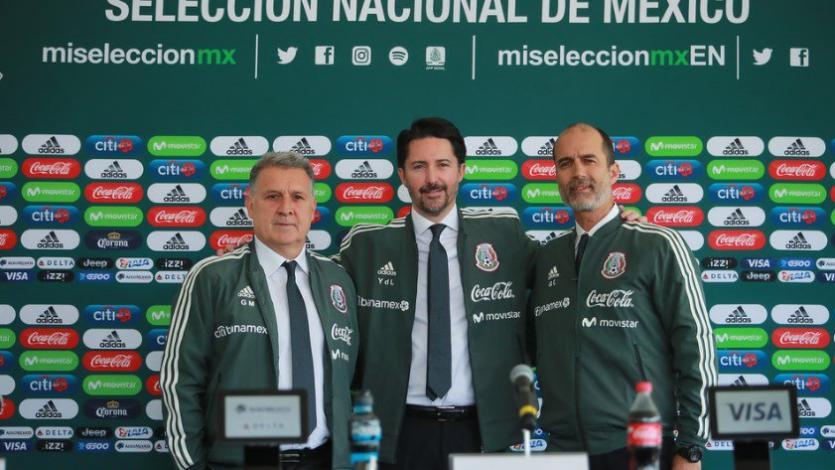 Gerardo Martino fue presentado como DT de México