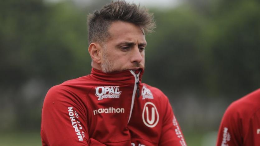 Universitario: Germán Denis y Rafael Guarderas se lesionaron y no jugarán ante Los Caimanes