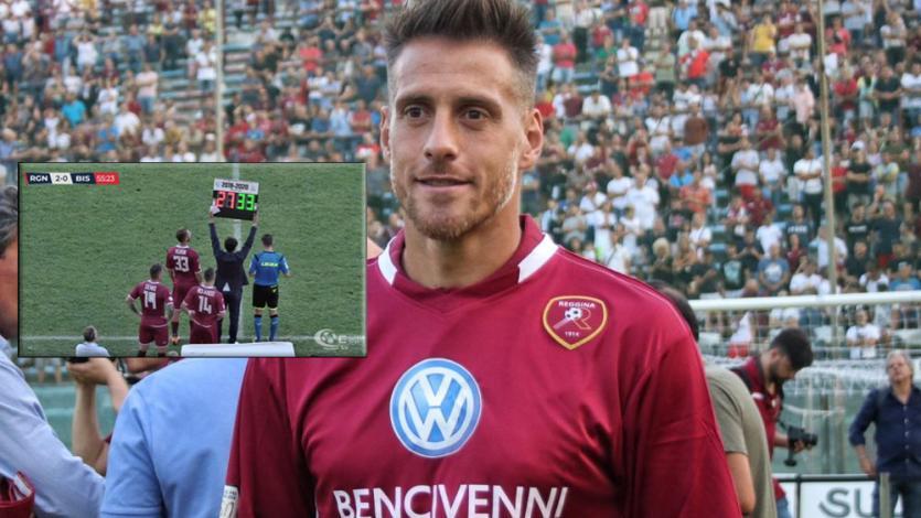 Germán Denis debutó con el Reggina de Italia, golearon 3-0 y treparon al segundo lugar (VIDEO)