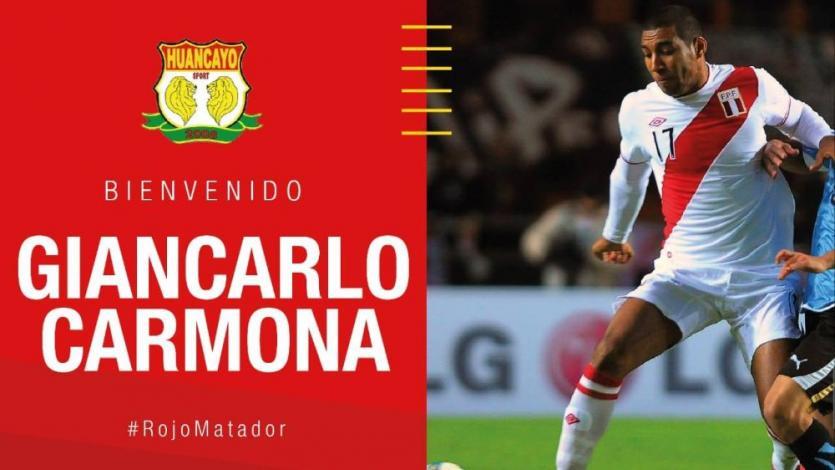 Giancarlo Carmona sobre Sport Huancayo: