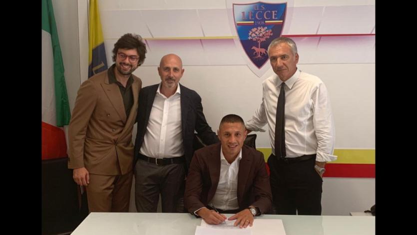 Gianluca Lapadula fue fichado por el Lecce de la Serie A italiana (VIDEO)