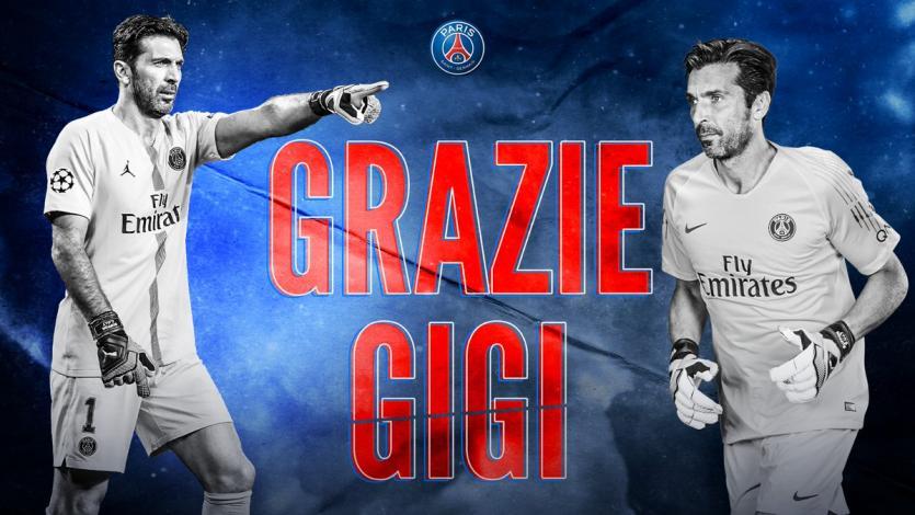 Gianluigi Buffon no seguirá en el Paris Saint Germain