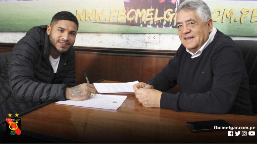 Gino Guerrero es nuevo jugador de Melgar