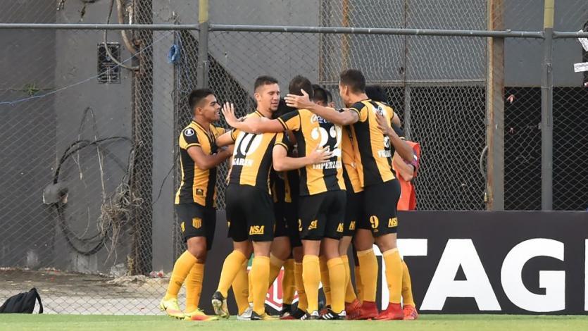 Guaraní aplastó a Carabobo 6-0