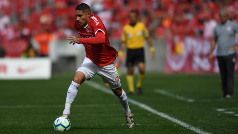 Paolo Guerrero vio acción en empate del Internacional frente al Corinthtians (VIDEO)