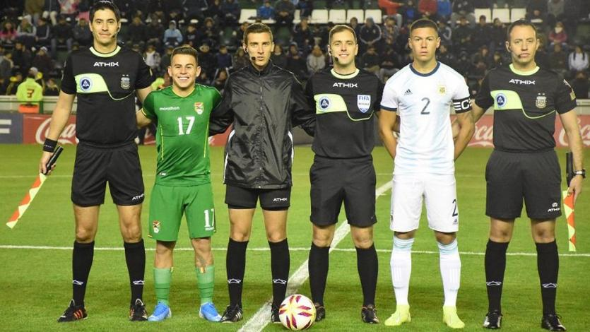Argentina goleó 5-0 a Bolivia con Henry Vaca como capitán en amistoso internacional Sub 23 (VIDEO)