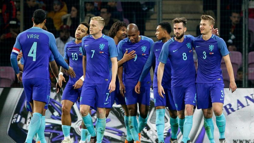 Holanda derrotó a Portugal 3-0