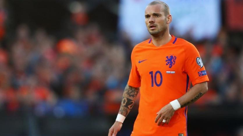 Holanda vs. Perú es el partido elegido para la despedida de Wesley Sneijder