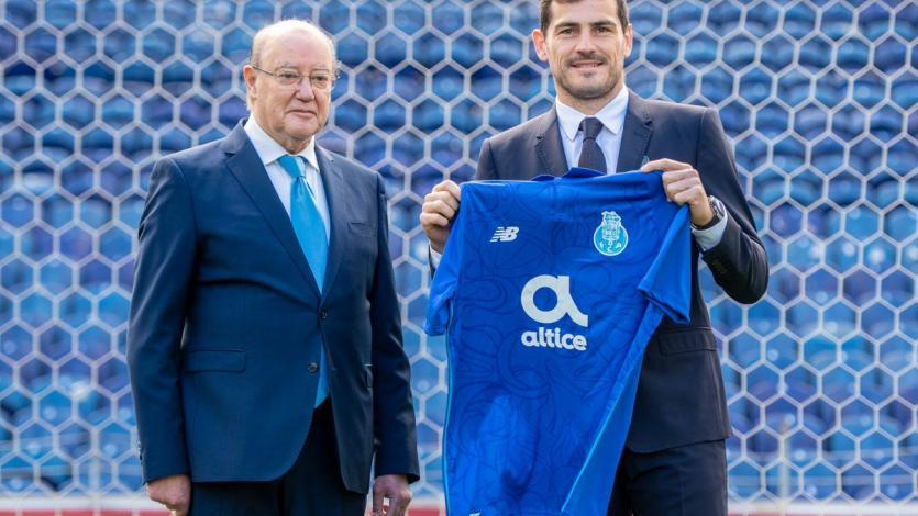 Iker Casillas renovó contrato con FC Porto hasta 2020
