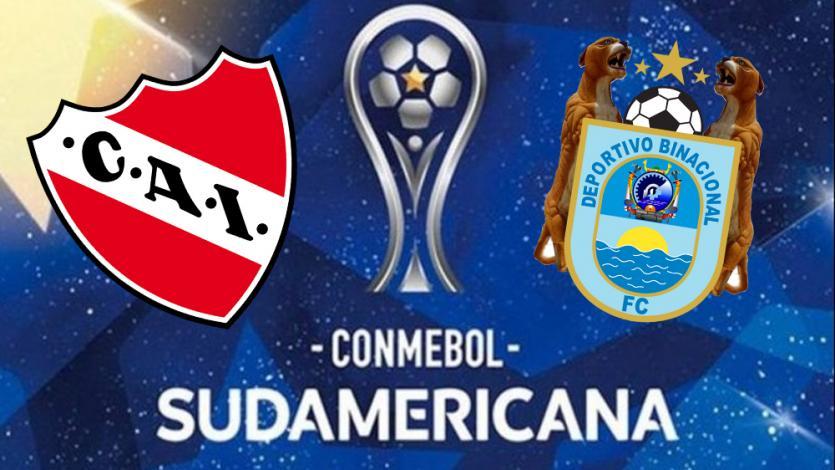 Copa Sudamericana: Deportivo Binacional visita a Independiente