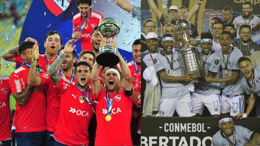 Independiente y Gremio disputan la Recopa Sudamericana