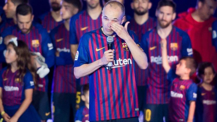 La Liga: Andrés Iniesta jugó su último partido con el Barcelona
