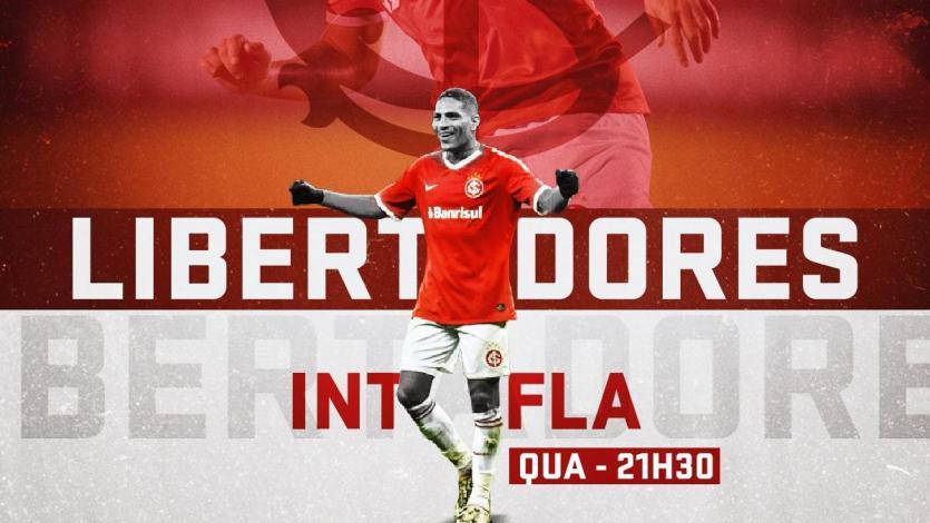 Internacional vs. Flamengo: chocan en el Beira-Rio por los cuartos de final de la Copa Libertadores