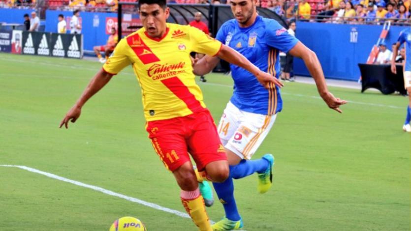 Irven Ávila anotó su primer gol con el Morelia