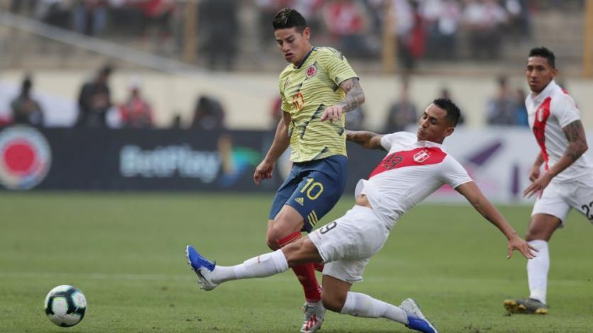 Perú vs Colombia: James Rodríguez se lesionó la rodilla y no enfrentará a la bicolor este viernes