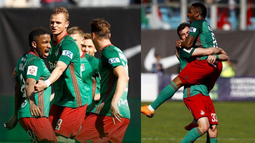 Con golazo de Farfán, Lokomotiv goleó 4-0 al Dinamo