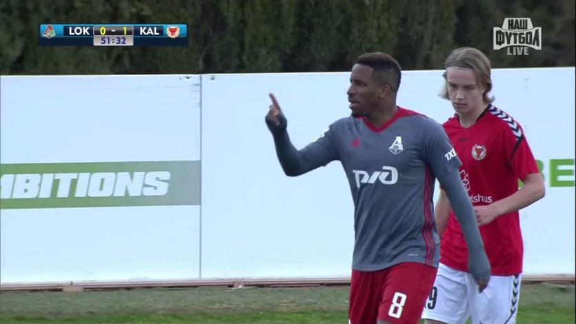 Jefferson Farfán anotó en el partido amistoso ante Kalmar de Suecia