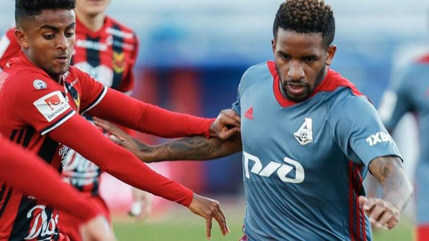 Jefferson Farfán dio una asistencia en triunfo del Lokomotiv