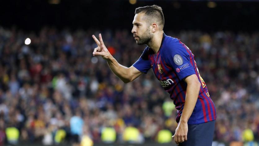 Jordi Alba renovó con Barcelona hasta 2024