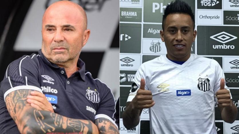 Jorge Sampaoli a la torcida de Santos: