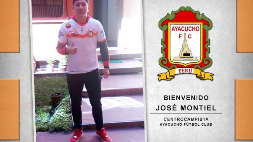 José Montiel es el nuevo refuerzo de Ayacucho F.C