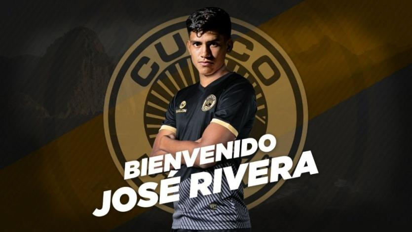 Liga1 Movistar: delantero José Rivera fue anunciado como refuerzo de Cusco FC (VIDEO)