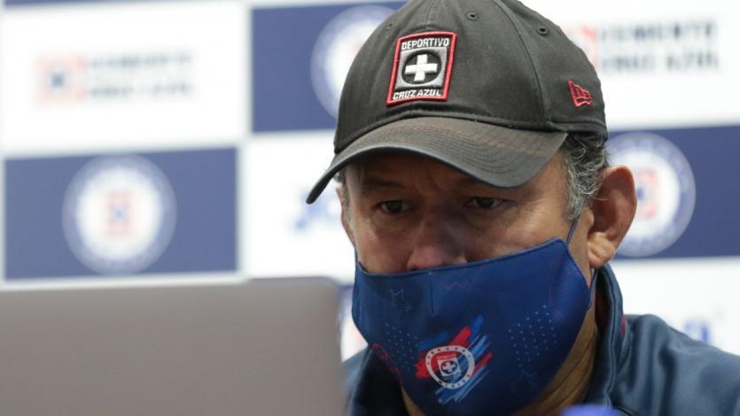 El récord de Juan Reynoso en su inicio como entrenador de Cruz Azul