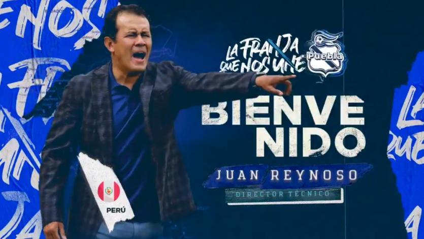 Juan Reynoso: Puebla de México oficializó la contratación del técnico peruano